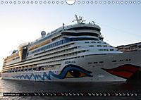 Kreuzfahrtschiffe in Hamburg (Wandkalender 2019 DIN A4 quer) - Produktdetailbild 11
