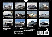Kreuzfahrtschiffe in Hamburg (Wandkalender 2019 DIN A4 quer) - Produktdetailbild 13