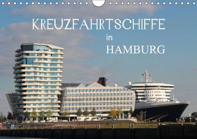 Kreuzfahrtschiffe in Hamburg (Wandkalender 2019 DIN A4 quer), Matthias Brix - Studio Brix