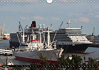Kreuzfahrtschiffe in Hamburg (Wandkalender 2019 DIN A4 quer) - Produktdetailbild 6