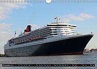 Kreuzfahrtschiffe in Hamburg (Wandkalender 2019 DIN A4 quer) - Produktdetailbild 12