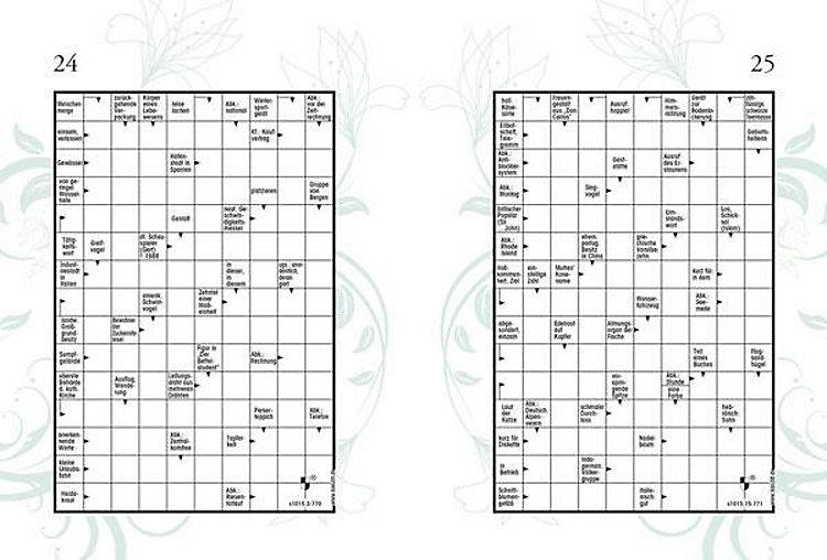 Kissenhülle Kreuzworträtsel.Kreuzwortratsel Deluxe Buch Bei Weltbild De Online Bestellen