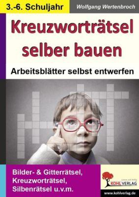 Kreuzworträtsel selber bauen, Wolfgang Wertenbroch