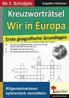 Kreuzworträtsel Wir in Europa, Angelika Hofmann