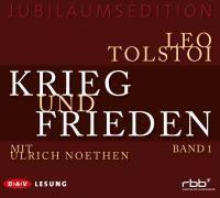 Krieg und Frieden, 54 Audio-CDs, Leo Nikolajewitsch Tolstoi