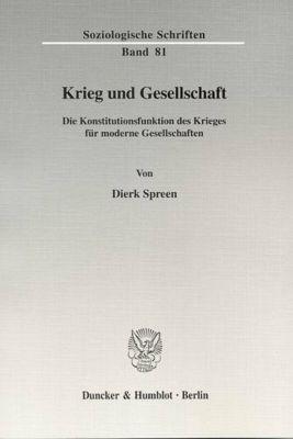 Krieg und Gesellschaft, Dierk Spreen
