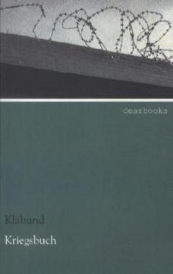 Kriegsbuch - Klabund pdf epub