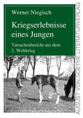 Kriegserlebnisse eines Jungen - Werner Niegisch |