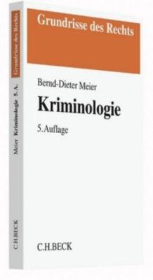 Kriminologie, Bernd-Dieter Meier