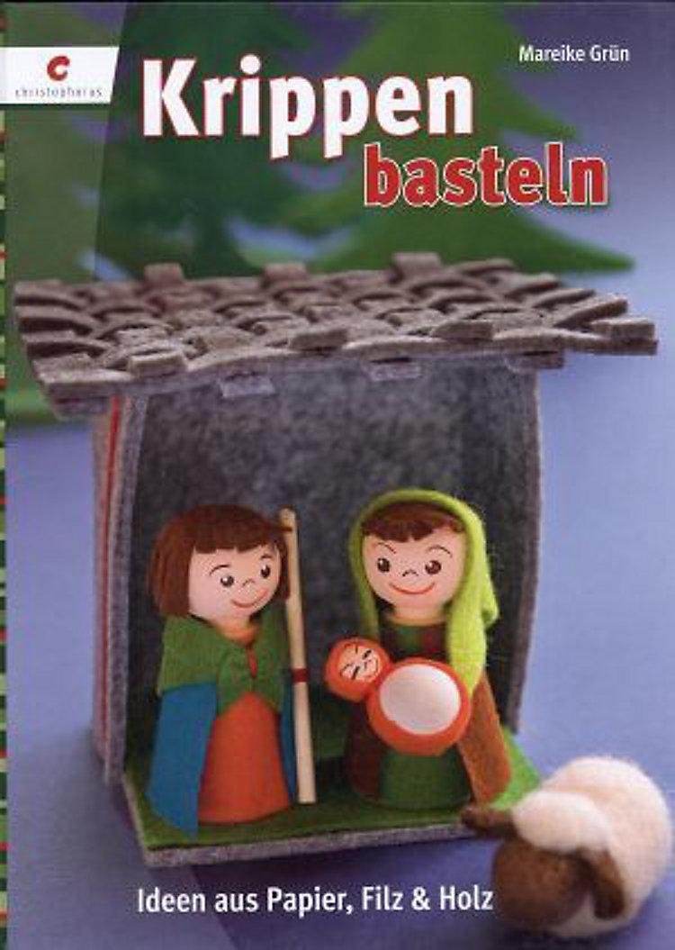 Krippen Basteln Buch Von Mareike Grün Versandkostenfrei Bei