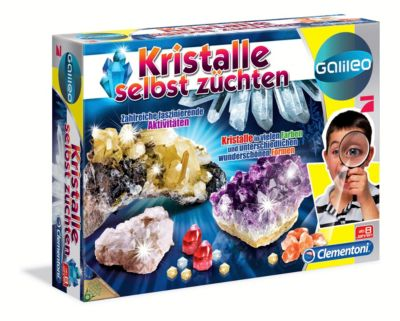 Kristalle selbst züchten (Experimentierkasten)