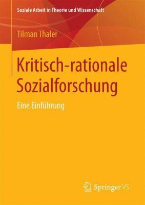 Kritisch-rationale Sozialforschung - Tilman Thaler pdf epub