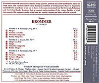 Krommer: Partiten für Bläserensemble  Vol. 3 op. 69, 76 & 79 - Produktdetailbild 1