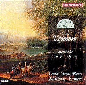 Krommer (Sinfonien), Matthias Bamert, Lmp
