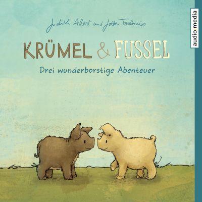 Krümel und Fussel – Drei wunderborstige Abenteuer, Judith Allert, Joëlle Tourlonias