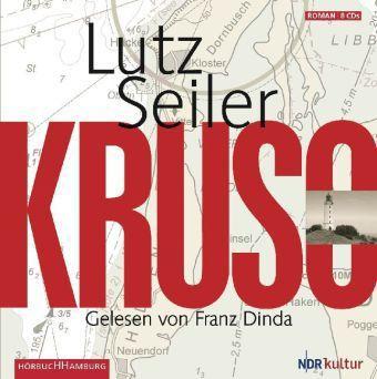 Kruso, 9 Audio-CDs, Lutz Seiler