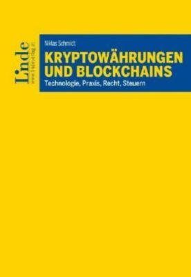 Kryptowährungen und Blockchains - Niklas Schmidt |