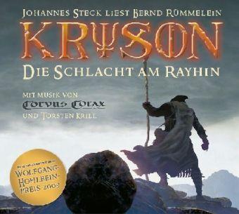 Kryson - Die Schlacht am Rayhin, 16 Audio-CDs, Bernd Rümmelein