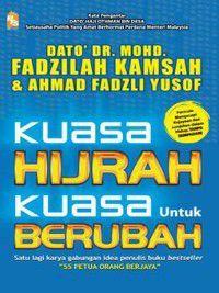 Kuasa Hijrah Kuasa Untuk Berubah, Ahmad Fadzli Yusof, Mohd Fadzilah Kamsah