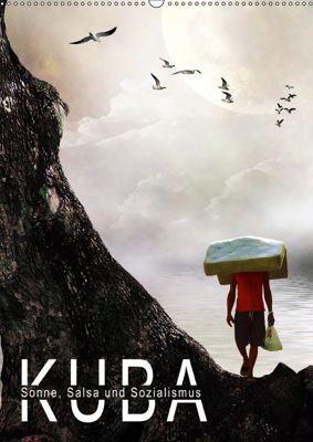 KUBA - Sonne, Salsa und Sozialismus (Wandkalender 2019 DIN A2 hoch), Harald Fischer