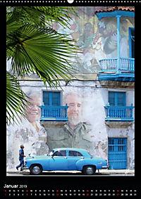 KUBA - Sonne, Salsa und Sozialismus (Wandkalender 2019 DIN A2 hoch) - Produktdetailbild 1