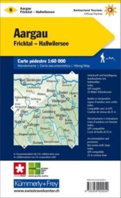 Kümmerly+Frey Karte Aargau, Fricktal - Hallwilersee Wanderkarte