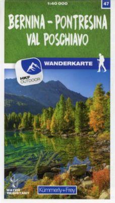 Kümmerly+Frey Karte Bernina - Pontresina / Val Poschiavo Wanderkarte -  pdf epub