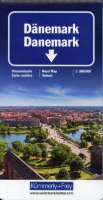 Kümmerly+Frey Karte Dänemark Straßenkarte; Danemark; Denmark. Danmark -  pdf epub