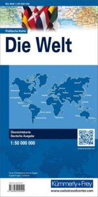 Kümmerly+Frey Karte Die Welt politisch