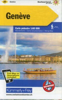 Kümmerly+Frey Karte Genève Wanderkarte -  pdf epub