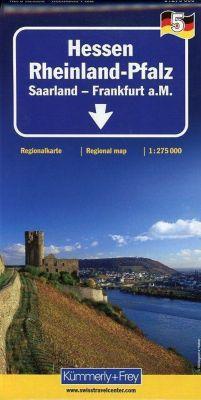 Kümmerly+Frey Karte Hessen - Rheinland-Pfalz Regionalkarte -  pdf epub