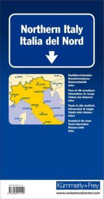 Kümmerly+Frey Karte Italien Nord Strassenkarte; Italie du Nord / Northern Italy / Italia del Nord -  pdf epub
