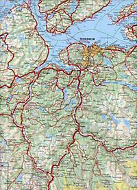 Kümmerly & Frey Karte Mittel-Norwegen; Norvege Centrale / Central Norway / Midt-Norge - Produktdetailbild 2