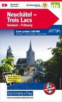 Kümmerly+Frey Karte Neuchâtel, Trois Lacs Velokarte -  pdf epub