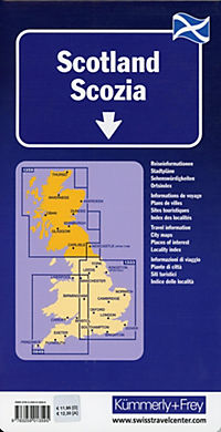 Kümmerly & Frey Karte Schottland; Ecosse / Scotland / Scozia - Produktdetailbild 1