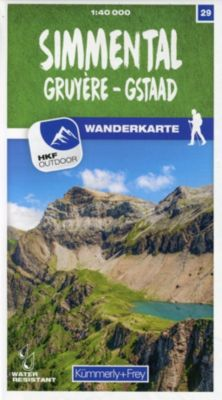 Kümmerly+Frey Karte Simmental / Gruyère - Gstaad Wanderkarte -  pdf epub