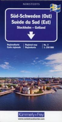 Kümmerly+Frey Karte Süd-Schweden (Ost) Regionalkarte; Suède du Sud (Est) / Southern Sweden (East) / Södra Sverige (Öst) -  pdf epub