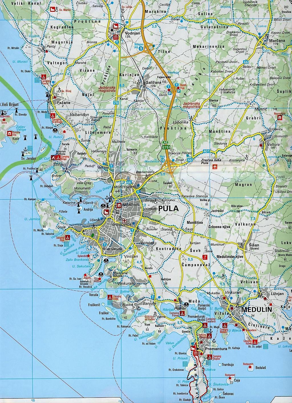 Kroatien Karte Istrien.Kümmerly Frey Outdoorkarte Kroatien Istrien Buch Weltbild De