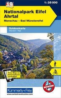 Kümmerly+Frey Outdoorkarte Nationalpark Eifel, Ahrtal -  pdf epub