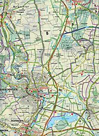 Kümmerly & Frey Outdoorkarte Obere Donau, Baar, Donaueschingen, Tuttlingen, Sigmaringen - Produktdetailbild 2