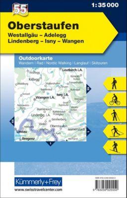 Kümmerly+Frey Outdoorkarte Oberstaufen