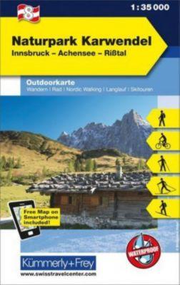 Kümmerly+Frey Outdoorkarte Österreich - Naturpark Karwendel
