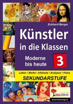 Künstler in die Klassen 3, Eckhard Berger