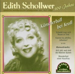 Künstlerball Bei Kroll, Edith Schollwer