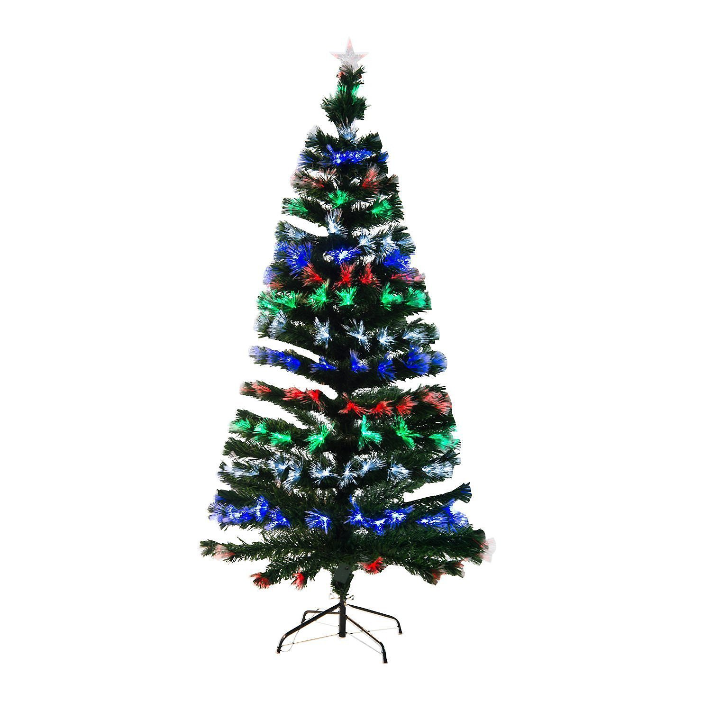 Weihnachtsbaum Aufbauen.Künstlicher Weihnachtsbaum Mit Leuchtfaser Weltbild De