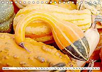 Kürbisse - so farbenfroh (Tischkalender 2019 DIN A5 quer) - Produktdetailbild 7