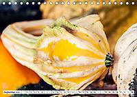 Kürbisse - so farbenfroh (Tischkalender 2019 DIN A5 quer) - Produktdetailbild 9