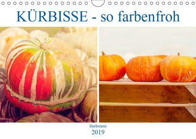 Kürbisse - so farbenfroh (Wandkalender 2019 DIN A4 quer), Liselotte Brunner-Klaus