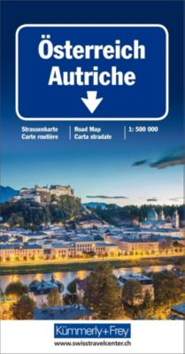 KuF Österreich 1 : 500 000. Straßenkarte