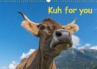Kuh for you (Wandkalender 2019 DIN A3 quer), Miriam Kaina